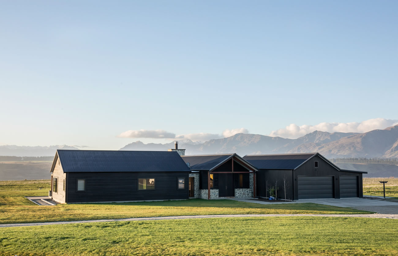 Beautiful Wanaka home with eco house design